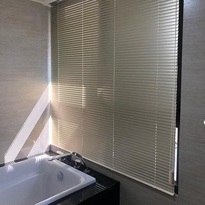 到府安裝浴室百葉窗簾