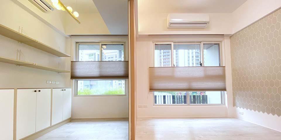 台中市西屯窗簾訂做 高質感蜂巢簾,營造高品質居家環境
