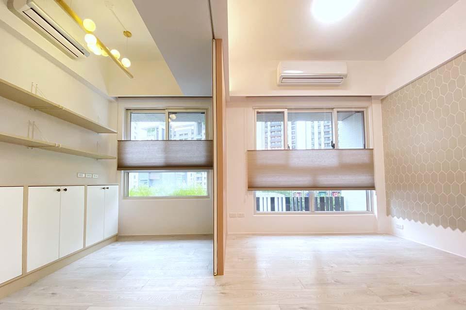 台中市西屯窗簾訂做|高質感蜂巢簾,營造高品質居家環境