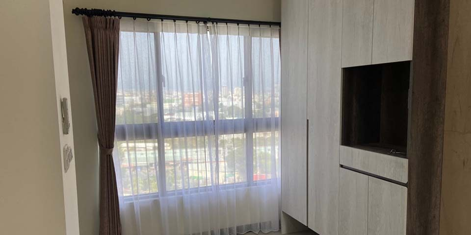 【布窗簾訂做】誰說安裝布窗簾一定要窗簾盒?藝術軌道讓布窗簾整體質感更加分